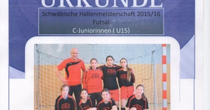 Mädchenfußball – Hallenmeisterschaften U11 und U15
