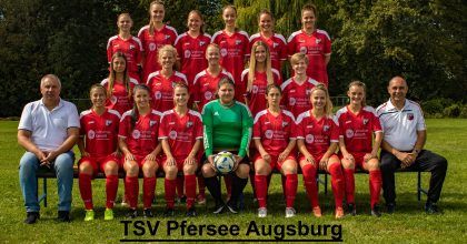 Frauenfussball FC Augsburg – TSV Pfersee I